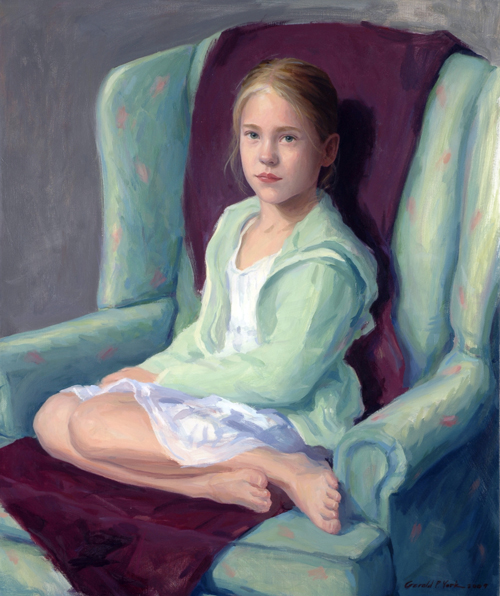 Oil Portrait of 