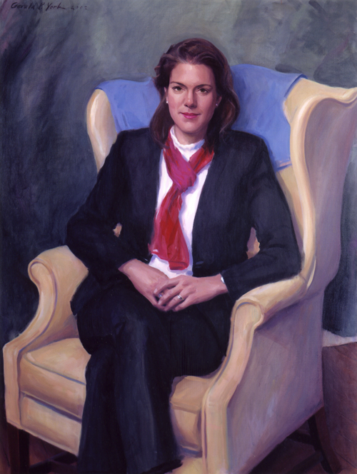 Oil Portrait of Kerry Robinson 