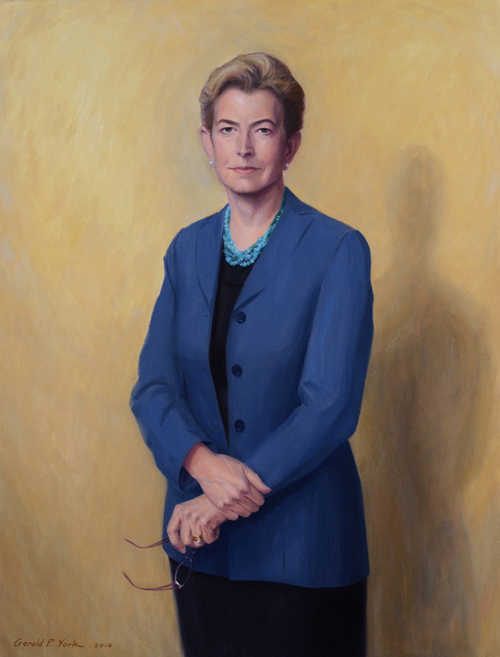 Oil Portrait of Yale College Dean Mary Miller  