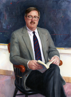 Oil Portrait Painting of Nick Thacher by and © Gerald P. York
